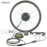 Nuevo Algún día EBIKE cassette trasero todo el cable impermeable engranaje hub motor 36 V 48V500W bicicleta