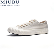 MIUBU Hot selling Summer Men Canvas Shoes Hemp Casual Fashion Light Soft Male White Skate Breathable Flats Sneakers