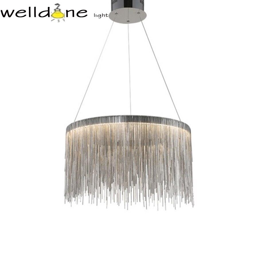 Lampes et lanternes de gland de chaîne postmodernes de luxe de conception italienne LED pour l'hôtel restaurant chambre salon décor lustre