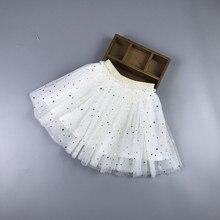 лучшая цена Girls Skirt Tutu Five Stars Tulle Skirt for Dancing Party Pettiskirt Elastic Skirt Baby Ball Gown Toddler KawaiiChildren's Skirt