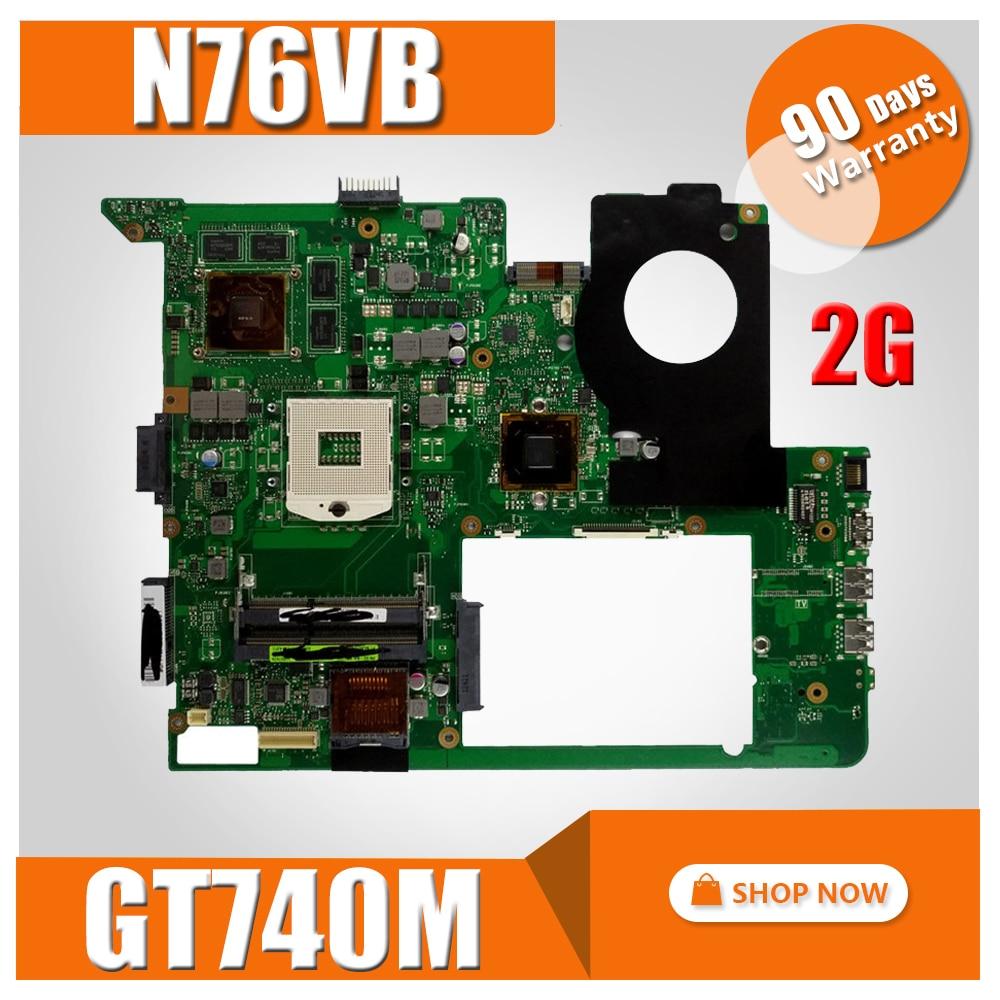 N76VB Motherboard GT740M 2GB USB3.0 For ASUS N76VJ N76VZ N76VM Laptop motherboard N76VB Mainboard N76VB Motherboard test 100% OK with 4gb video card gt650m n76vz motherboard for asus n76vz n76v n76vm n76vj n76vb laptop mainboard n76vz motherboard test ok