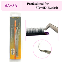VETUS 6A SA Stainless Steel Tweezers Tool Especially for DD 6D Volume Mink Eyelash Extension Lashes