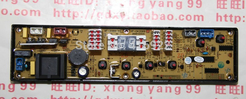 Free shipping 100%tested for chigo washing machine board control board XQB58-8805 HF-RY2069-X HF-2069-X HF-OK2069 XQB60-512 free shipping 100% tested for washing machine board konka xqb60 6028 xqb55 598 original motherboard ncxq qs01 3 on sale
