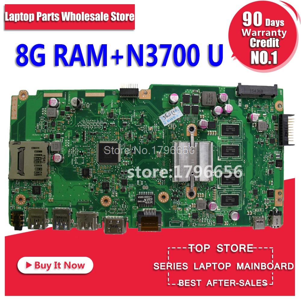 X540SA Motherboard N3050U 8G RAM For ASUS X540SA X540S laptop Motherboard X540SA Mainboard X540SA Motherboard test ok цены