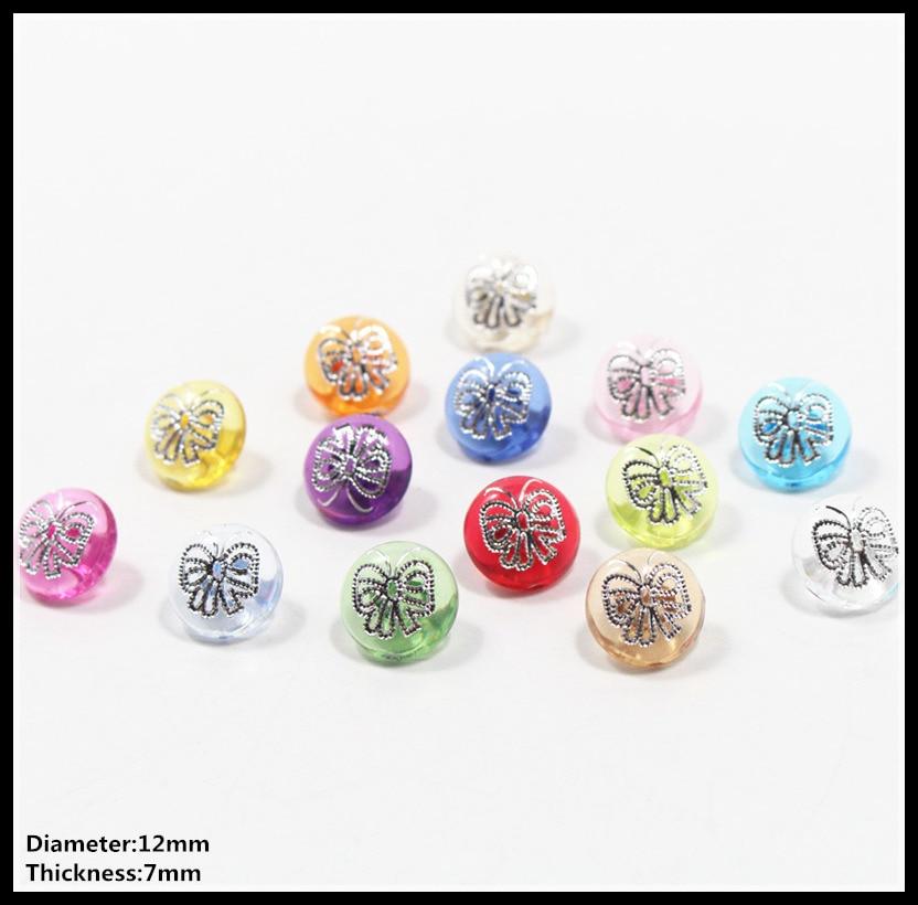 60-100 UNIDS 12 MM mezcla mariposa diamante Acrílico Rhinestone - Artes, artesanía y costura