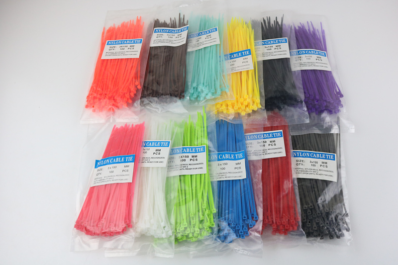 100/Lot 3*150mm width 2.5mm Colorful Factory Standard Self-locking Plastic Nylon Cable Ties,Wire Zip Tie 3x150 100pcs pack 4 200mm width 2 7mm colorful factory standard self locking plastic nylon cable ties wire zip tie