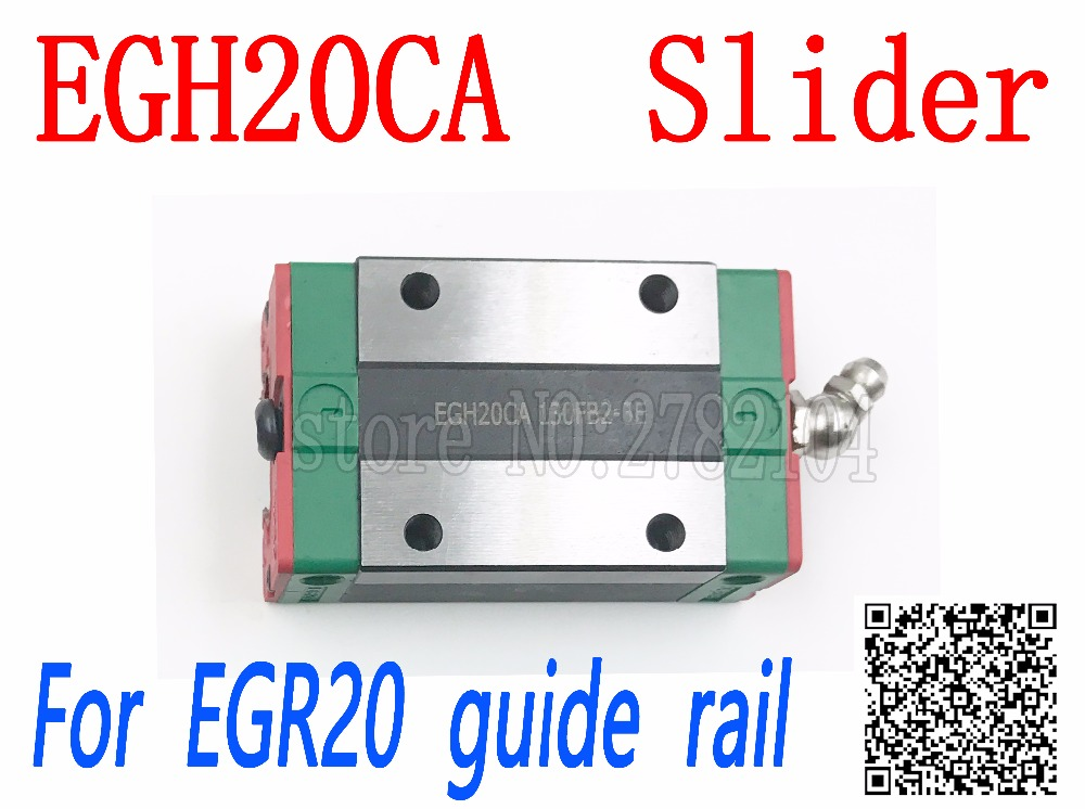 Free shipping 1pcs EGH20CA or EGH20SA Linear Guide Block EGH20 CA for EGR20 linear rail CNC diy parts high quality  EGW20 Free shipping 1pcs EGH20CA or EGH20SA Linear Guide Block EGH20 CA for EGR20 linear rail CNC diy parts high quality  EGW20