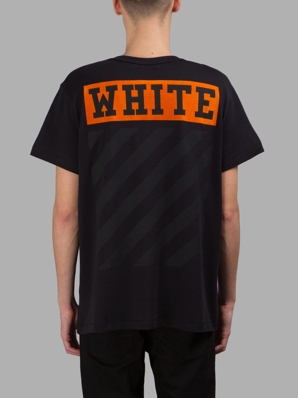 Online Shop Off White ow 16ss brand clothing black matte black ...