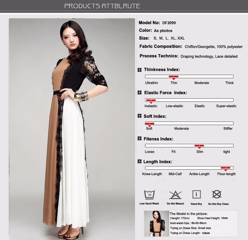 993f760513d3c HOT SALE] Vestido High Quality New Fashion 2018 elegant Vintage Maxi ...