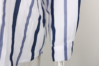 рубашка в полк для женщин осень 2017 г. новое постулат в-провода бюстгальтер хлопок прошел блузки для малышек свобода дамы рубашка с ди Recover для женщин с топы исправления и блузки для малышек