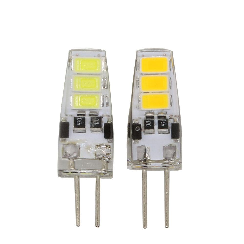 1pcs Mini G4 Led Bulb Dc 12v 3w Smd 5733 G4 Led Lamp Light 360 Beam