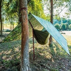 Image 4 - Ultralight taşınabilir hamak tente açık büyük asılı çadır aşınmaya dayanıklı katlanır UV geçirmez su geçirmez çok fonksiyonlu