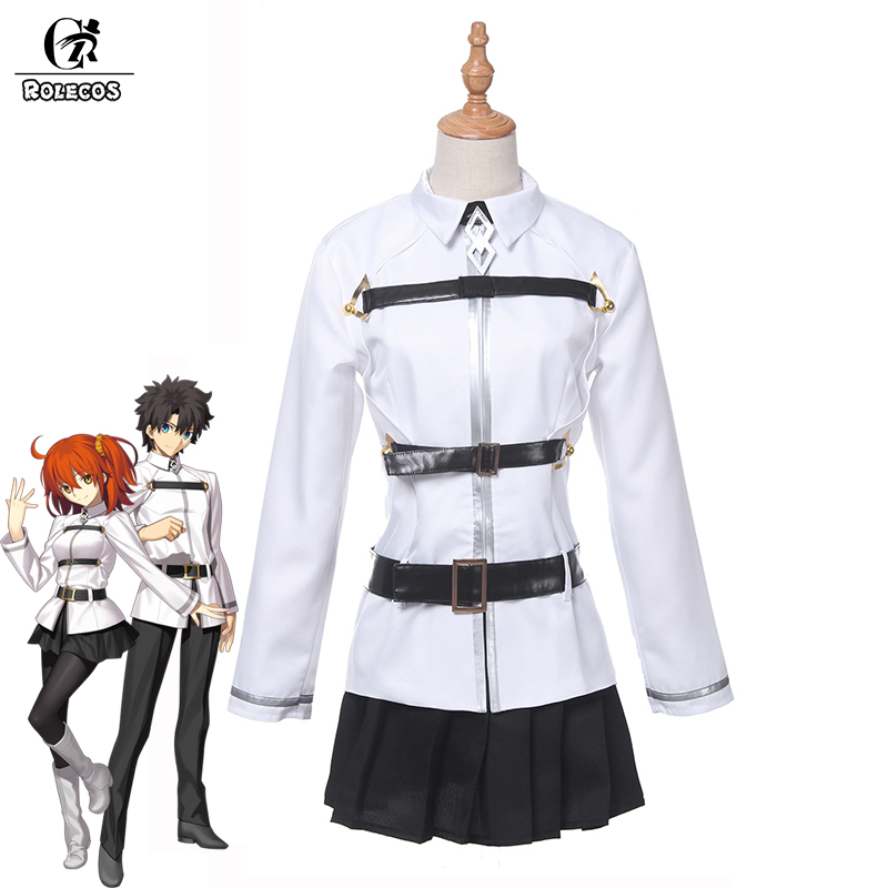 ROLECOS Fate Grand Order First Order Cosplay Costumes Ritsuka Fujimaru Gudako Game Fate Grand Master Cosplay