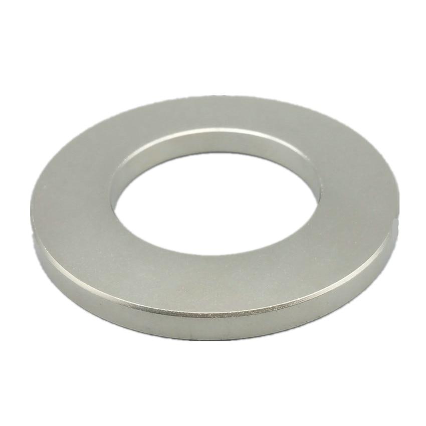 2pcs NdFeB Magnet Ring Diameter 70x6 40mm hole N48 Large Circle Tube Strong Neodymium Permanent circle