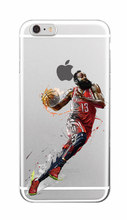 NBA Stars Kobe Bryant soft TPU Phone Case For iPhone 7plus 7 6 6S 5 5S SE 5C 4 4S SAMSUNG Galaxy S5 S6 S7 Edge