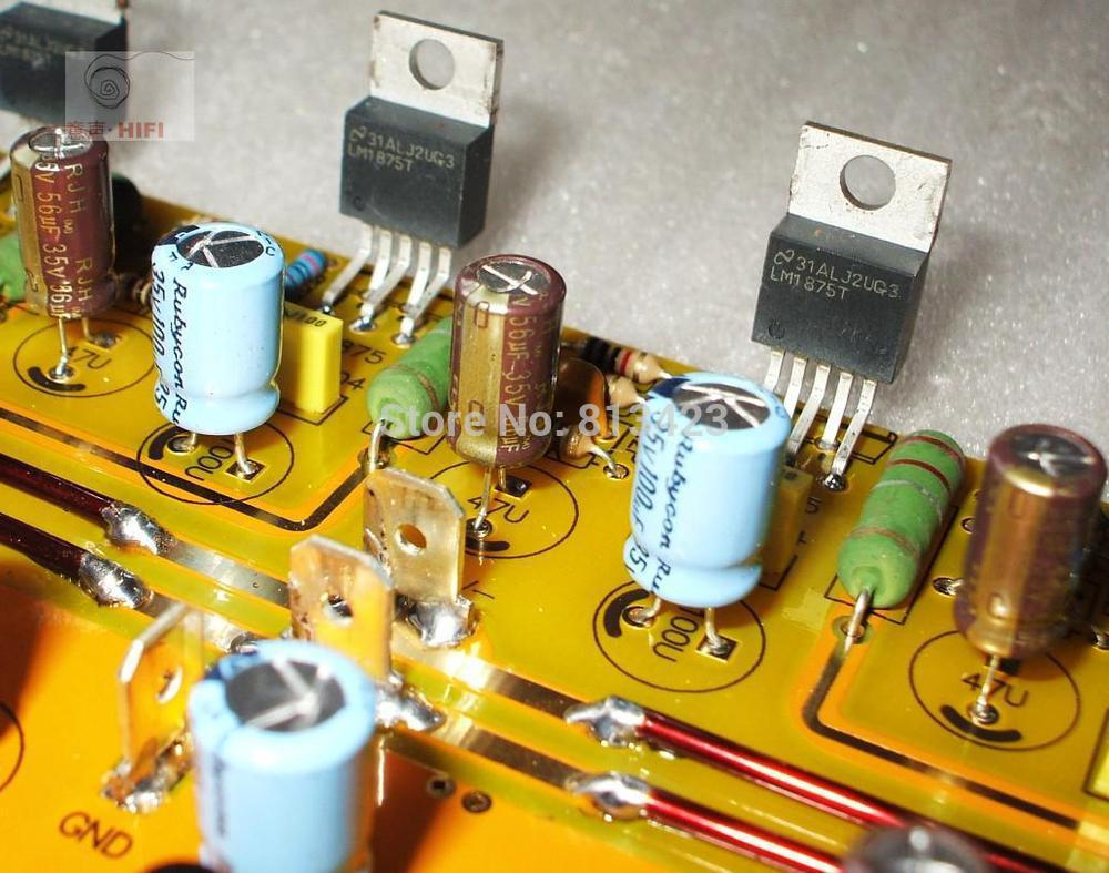 Lm1875 Shunt Btl Amplifier Board Parallel For A Diy Kit Hifi Audio Circuit In From Consumer Electronics On Alibaba Group