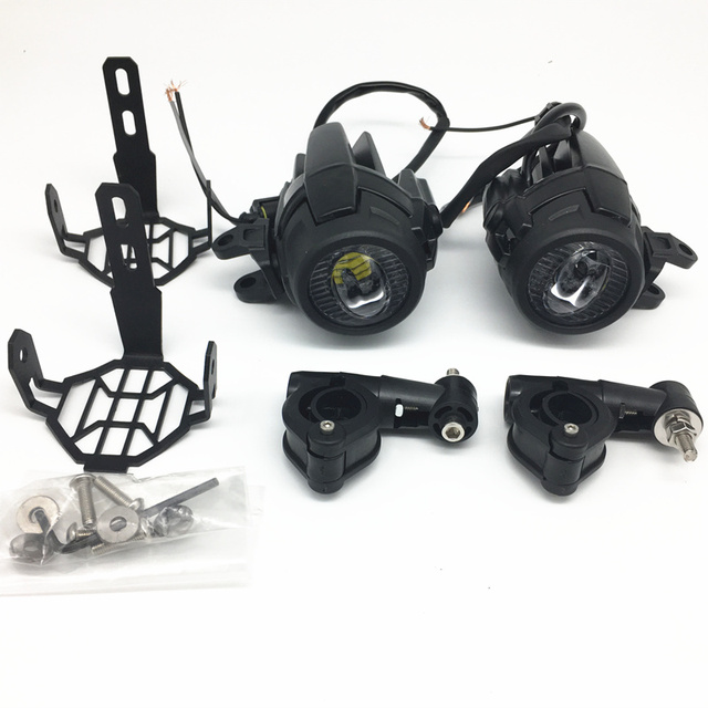 For BMW R1200GS F800GS Motocycle Fog Lights Guards Protector Cover ...