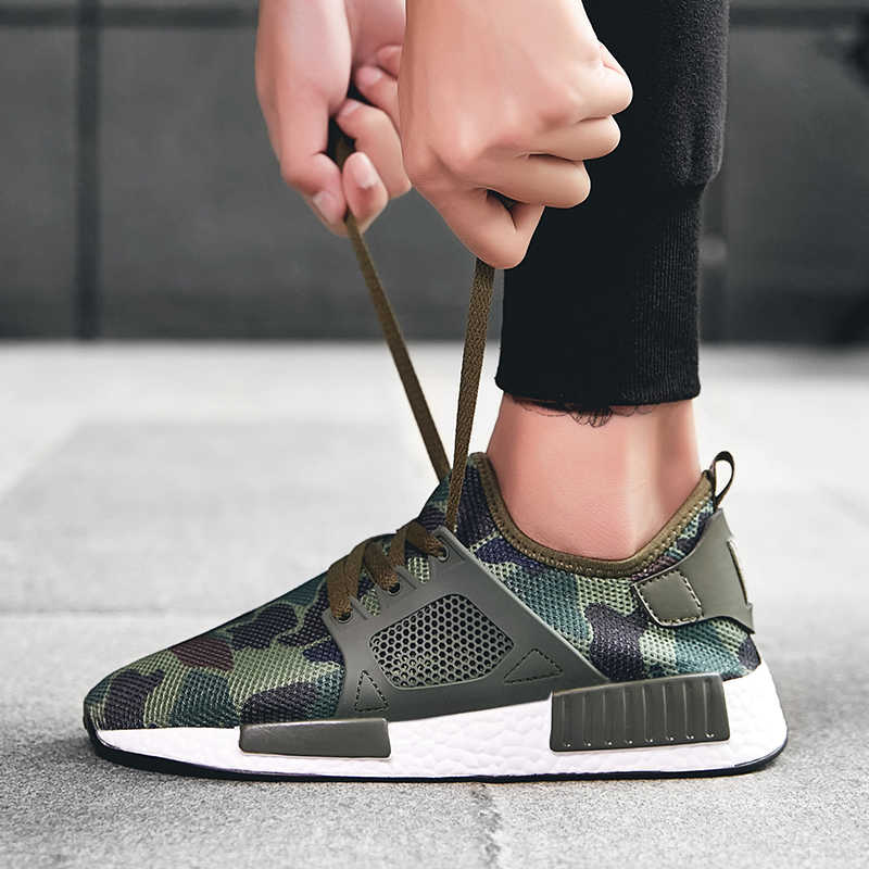 buy online factory authentic latest Hot Sale Running Shoes Men Lace up Men Athletic Trainers Sports ...