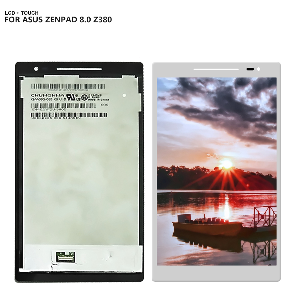 все цены на For ASUS Zenpad 8.0 Z380C Z380KL Z380M Z380 LCD Display Touch Screen Panel Digitizer Assembly онлайн