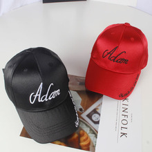 f2ab98d3097 Summer Kids Casual Adjustable Fitted Baseball Caps Children Boy Cotton Silk  Letter Emboridered Snapback Hats Sunscreen