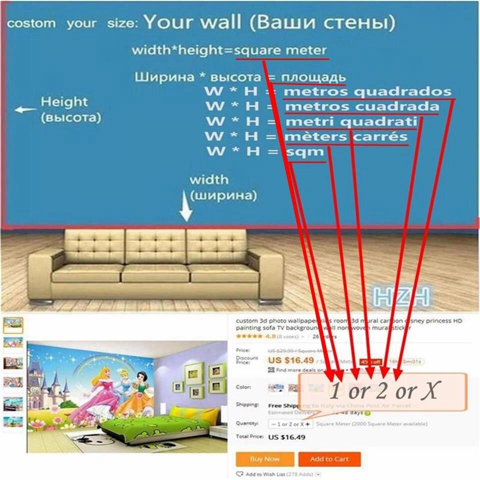 Aliexpresscom Buy 3d Wallpaper Photo Wallpaper Custom Home
