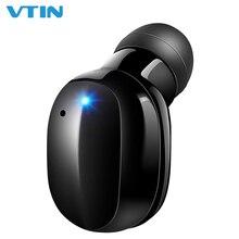 VTIN один беспроводной наушник Невидимый Мини Bluetooth 4,2 наушник с сенсорным управлением 6H Время Игры В Ухо Автомобильная bluetooth-гарнитура