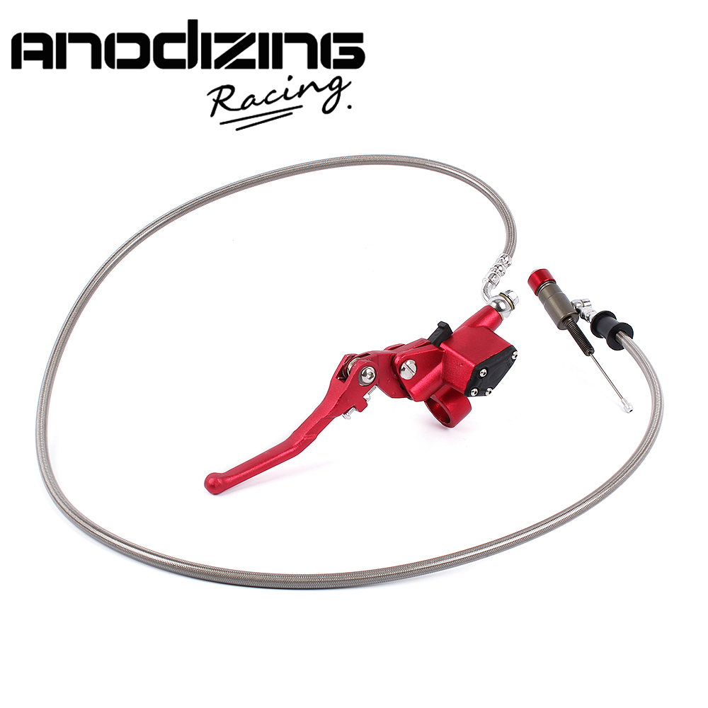 7/8 Inch Universal Motorcycle Master Cylinder 1200mm Pit Dirt Bike Hydraulic Brake Clutch Lever