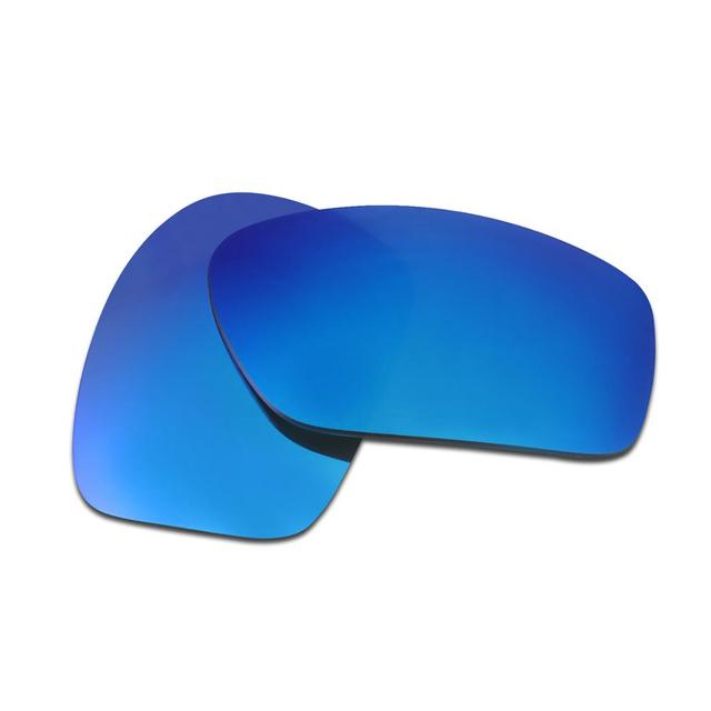 HKUCO Mens Replacement Lenses For Oakley Crossrange Sunglasses Blue/Black Polarized u9iQdFw7