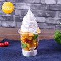 Окно дисплей модели продуктов питания Мороженое пломбир реквизит Моделирование мороженого вафельный конус образец формы поддельные фрукт...