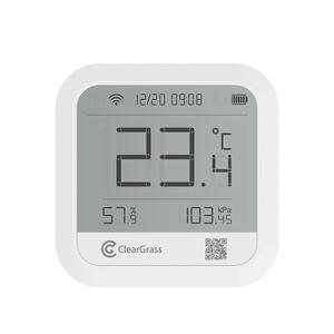 Image 2 - Метеостанция клирграсс точный прогноз температуры датчик гумидит цифровые часы умный клирграсс Wifi управление приложением