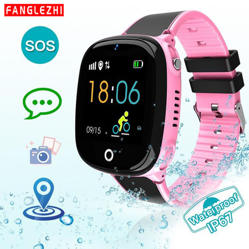 Bluetooth Smart Phone Watch For Kids Baby Watch for Children IP67 Waterproof GPS+LBS SOS Call Positioning Watch For Android Ios