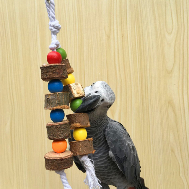 Wooden Toys for Birds