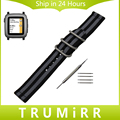 22mm Pulseira De Nylon Zulu Cinta + Ferramenta para Pebble Tempo/Aço lg g watch w100 w110 w150 tecido urbano banda correia de pulso pulseira