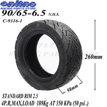 90/65-6.5 Mini Motor Tyres for 47cc/49cc 2 stoke air cooled Mini pocket bike Motor Wheel Spare Parts 47cc 49cc