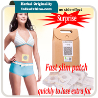 Navel Magnetic Slimming Patch Lose Weight Slim Patch Weight Loss 40 Pcs Box Lactation Is Available
