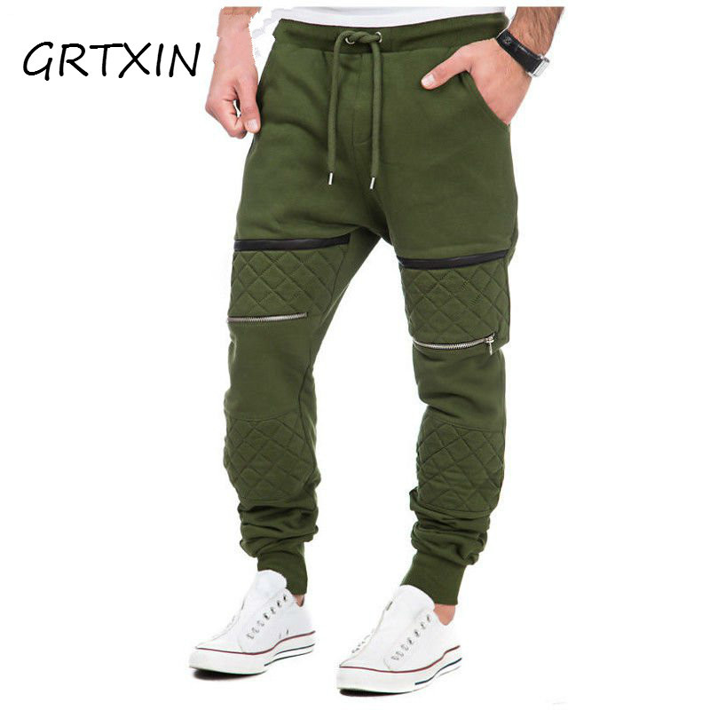 GRTXIN M-3XL Men Thick Sweatpants Winter Warm Joggers Fleece Lined Baggy Long Sweat Pants Casual Hip Hop Trousers Gyms-clothing
