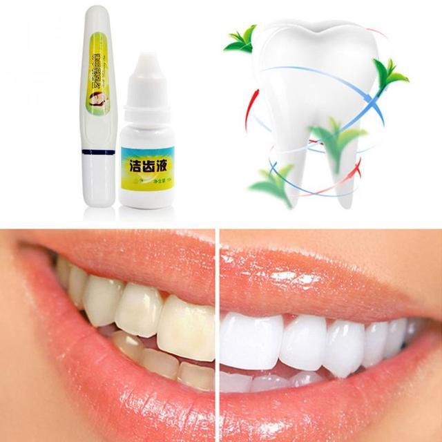 Novos Dentes Branqueamento Caneta Gel Clareador De Dente Macio