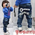 Retail  2016 Baby Boys Girls Jeans Brand Fashion Autumn 2-7Yrs Kids Trousers Children Clothing & Free shipping Y9461