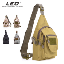 Leo Fishing Tackle Bag Men Chest Backpack Multi-Purpose For Reel Storage Outdoor