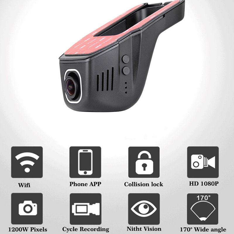 YESSUN Car Dvr Camera Camera Driving Video Recorder For Toyota Prius AUTO Rearview Camera Dash CAM WIFI Dash Camera in DVR Dash Camera from Automobiles Motorcycles