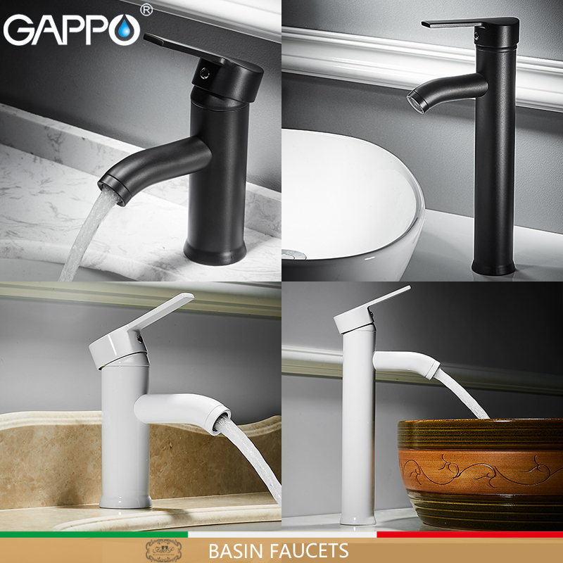 GAPPO Basin Faucet Waterfall Tap Deck Mounted Bathroom Mixer Sink Faucet Water Taps Faucet Sink Water Taps Hot Cold Faucet