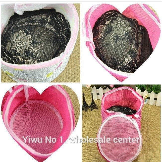 100 Pcs/lot More Thickeness Laundry Washing Machine Bag Socks Lingerie Bra Underwear Net Mesh Bag