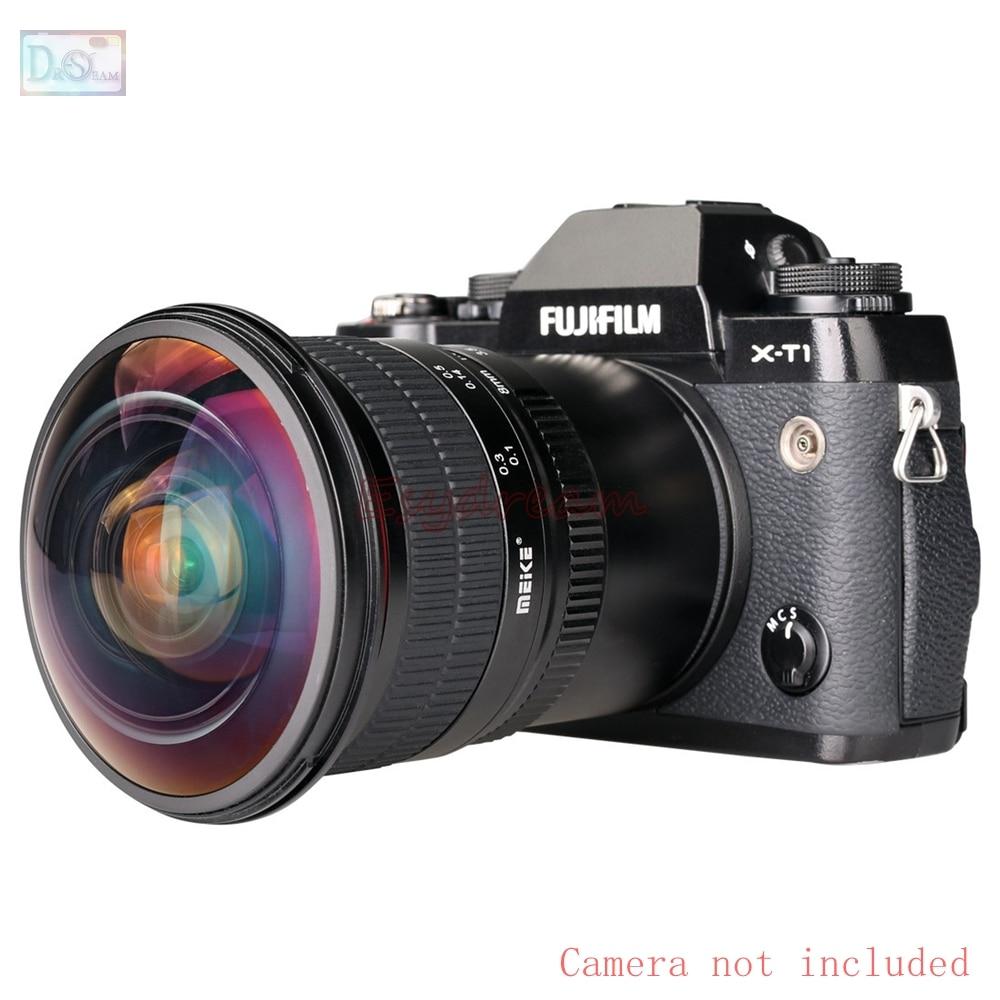 8mm 8 mm F3.5 Manual Ultra HD Fisheye Lens for Fujifilm Fuji FX X-T10 X-T2 X-T1 X-A3 X-A2 X-A1 X-PRO2 X-PRO1 X-E2 X-E1 X-M1 Cam все цены