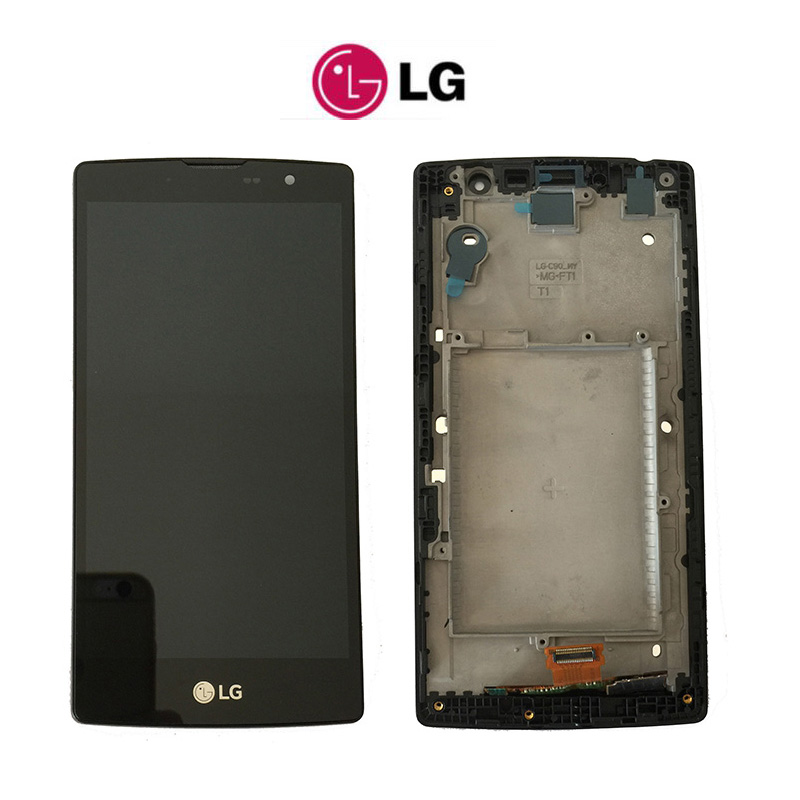 100% test Original For LG Magna h502 H502F H500F H500R H500N Y90 LCD Display + Touch Screen Digitizer Assembly with frame