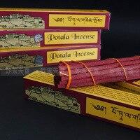 Тибетский potala благовония чисто рука из высоко ароматизированных лекарственных трав, ручной работы тибетские благовония палочки
