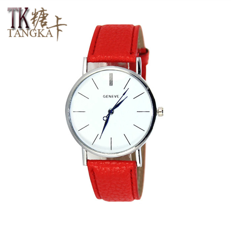 где купить 2017 new fashion branded watch women watches  simple Roman numerals leather strap luxury quartz relogio feminino по лучшей цене