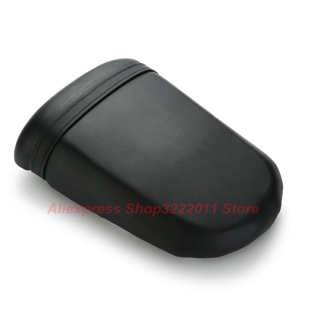 New Leather Rear Pillion For Suzuki GSXR1000 2003 2004 Passenger Seat Cover