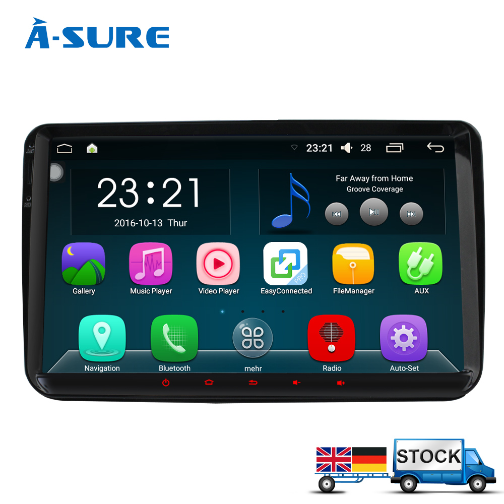 A Sure 9 DAB Android 5 1 1 In Car Navi GPS for VW GOLF 5