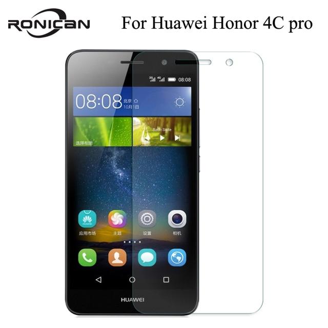 Pour Huawei Honor 4C pro verre huawei y6 pro protecteur décran RONICAN verre trempé huawei ultra mince 4c pro y6 creen film économiseur décran