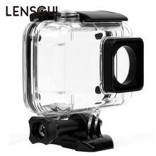 Lensoul Boîtier Étanche Shell Sous-Marine En Apnée De Protection Logement pour Gopro Hero Xiaomi Yi 4 K Xiaoyi 2 Sport Caméra